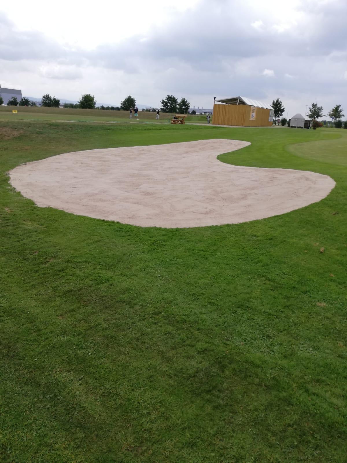 Neuer Sandbunker
